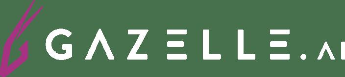Gazelle Logo Pink White